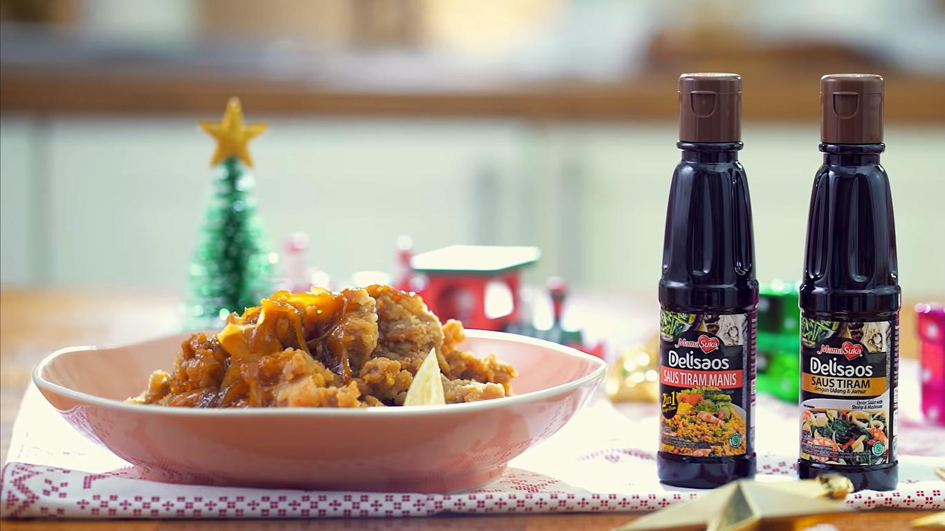 Sensasi Saus Tiram dalam Ayam Goreng Tepung Saus Mentega