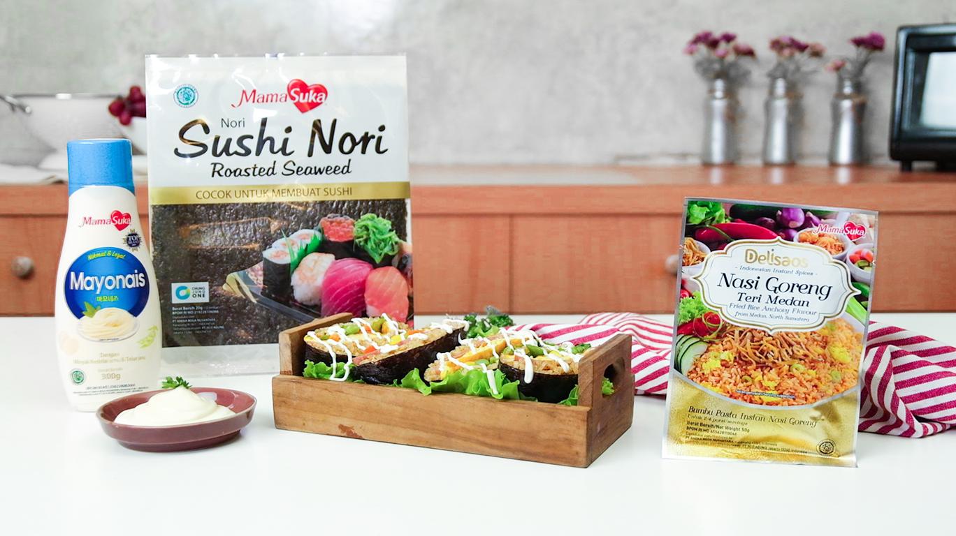 Bikin Onigirazu Rice Sandwich ala Rumahan, Yuk!