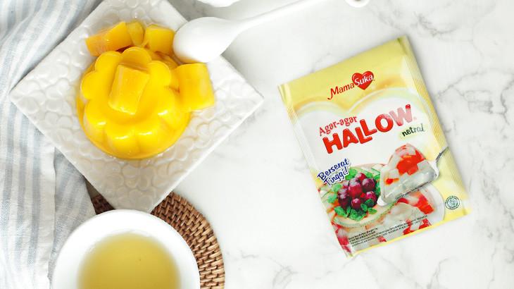 Nikmati Kesegaran Puding Mangga dengan Agar-agar Hallow MamaSuka