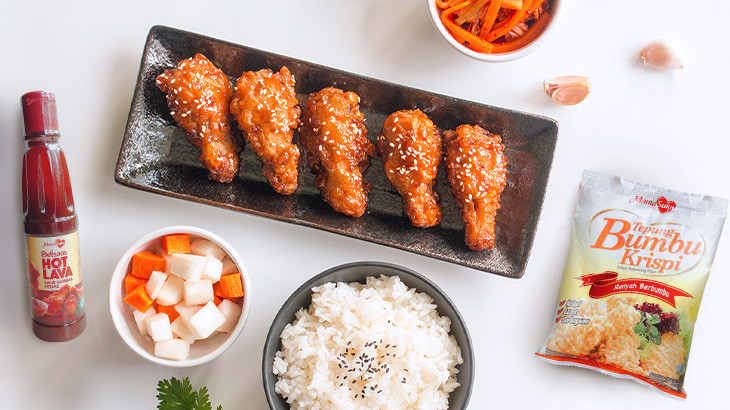 Resep Ayam Goreng Korea Pedas, Lezat dan Menggugah Selera