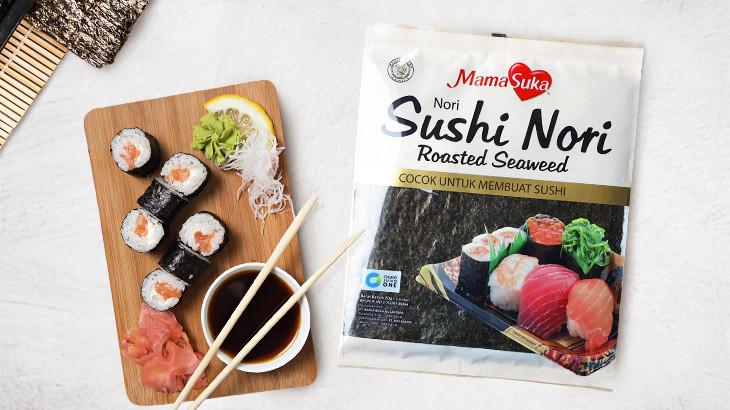 Resep Sushi Telur Geprek, Makanan Simpel Ala Anak Kosan
